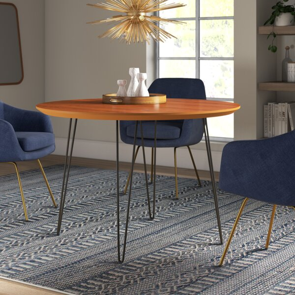 Chrisman Hairpin Dining Table by Wrought Studio