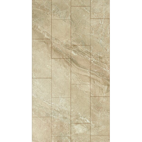 Ikema 12 x 24 Porcelain Field Tile in Sand by Parvatile