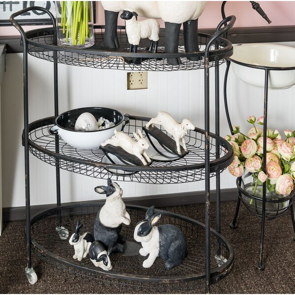 Lococo 3-Tier Rolling Bar Cart by Gracie Oaks