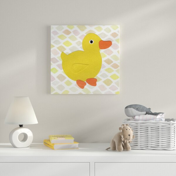 Duck Kingdom Graphic Art on Wrapped Canvas by Zoomie Kids