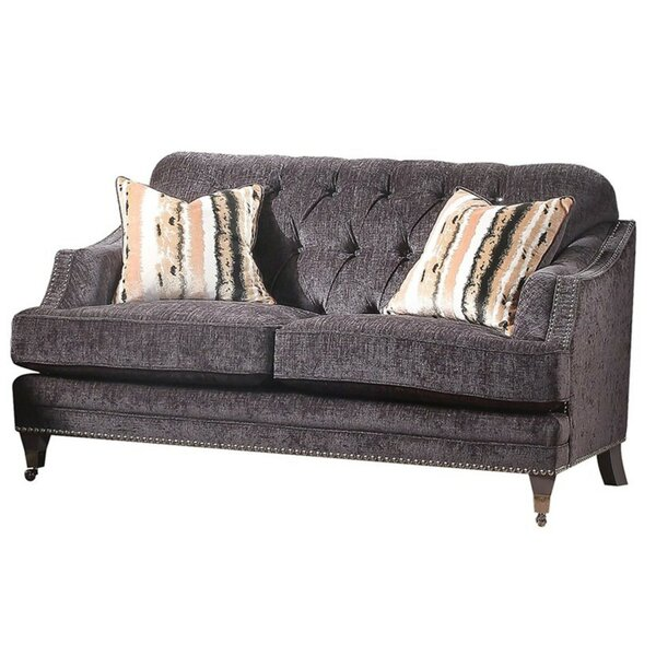 Best Selling Bove Upholstery Loveseat by House of Hampton by House of Hampton