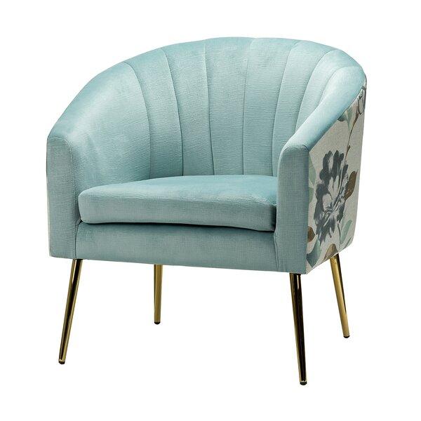Asuka Barrel Chair by Everly Quinn Everly Quinn