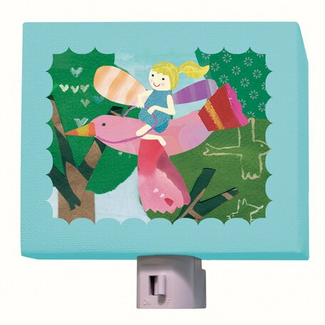 Flying Fairy Night Light by Oopsy Daisy