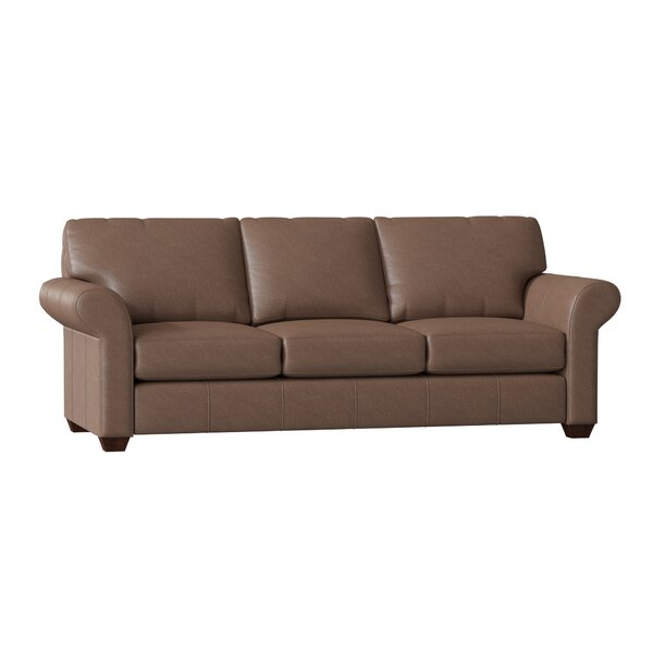 Tianna Dreamquest Leather Sleeper By Wayfair Custom Upholstery™