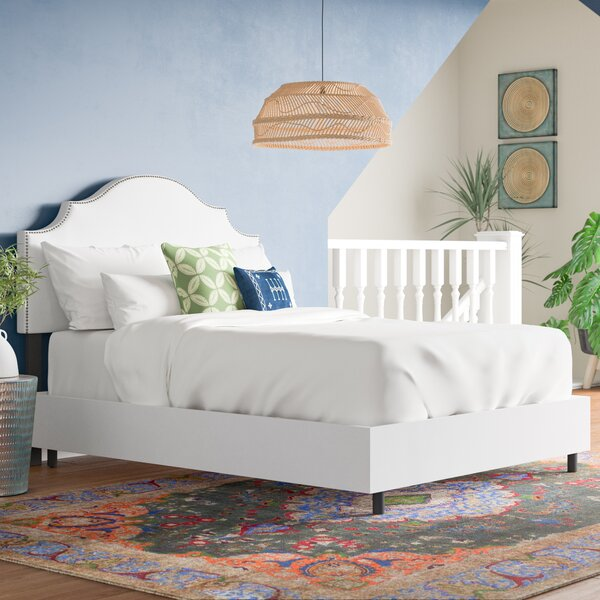 Rosecrans Upholstered Standard Bed by World Menagerie
