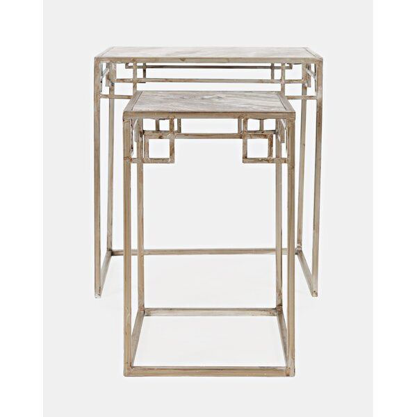 Knox 2 Piece Nesting Tables by Mercer41