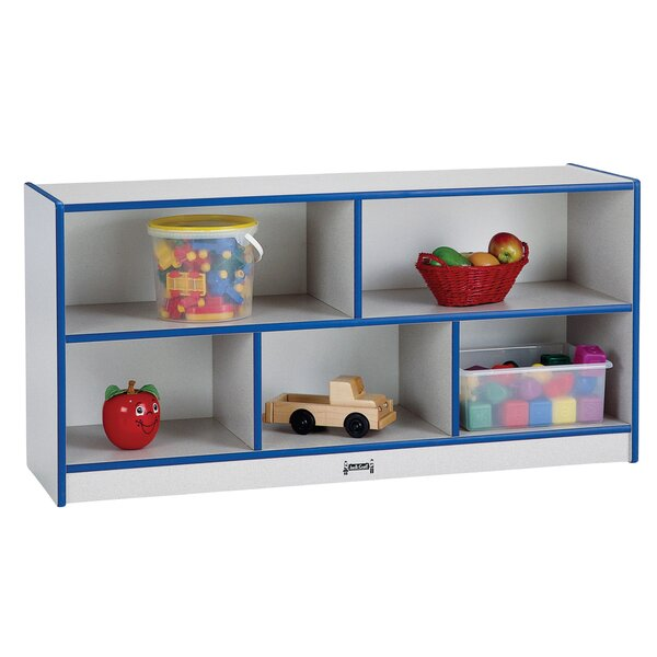 Rainbow Accents® 5 Compartment Shelving Unit with Casters by Jonti-Craft