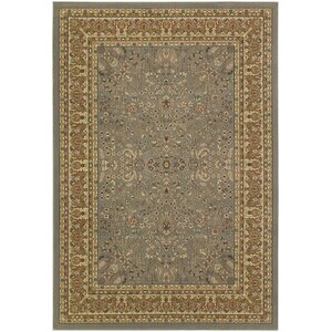 Belcourt Floral Gray Area Rug