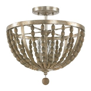Buying Lowell 3-Light Semi Flush Mount By Donny Osmond Home