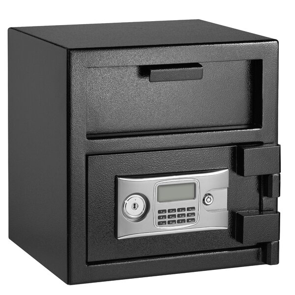 Depository Safe Box with Electronic Lock by AdirOffice