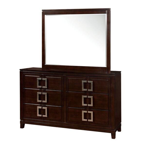 Everson 6 Drawer Double Dresser by Orren Ellis