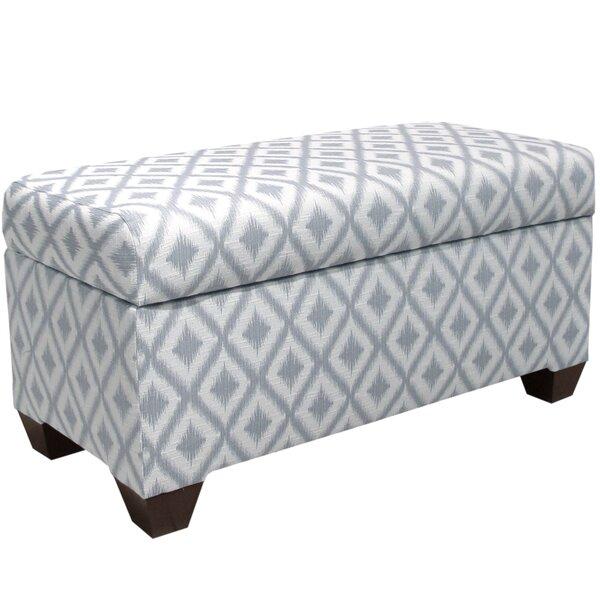 Raelynn Wood Upholstered Storage Bench by Ivy Bronx