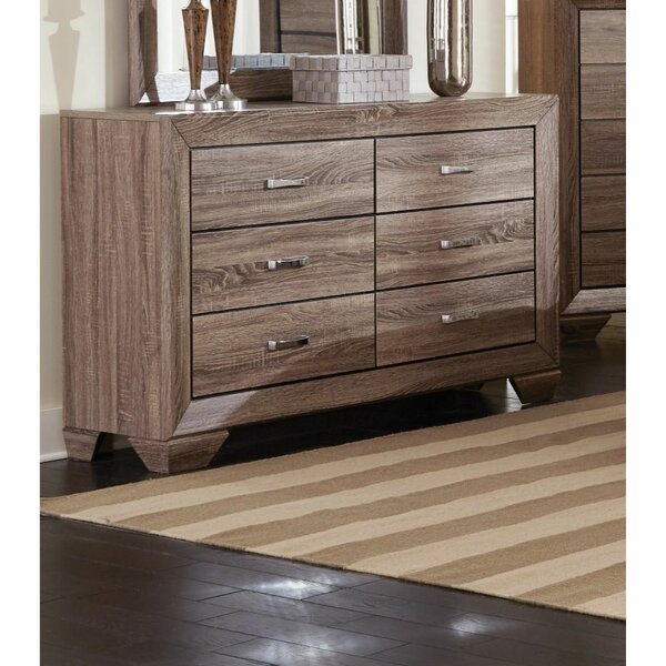 Addilyn 6 Drawer Double Dresser by Foundry Select