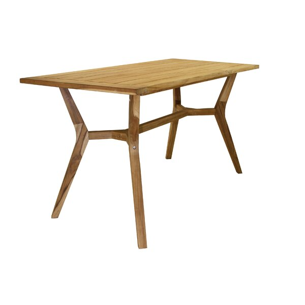 Caelan Solid Wood Balcony Table by Beachcrest Home