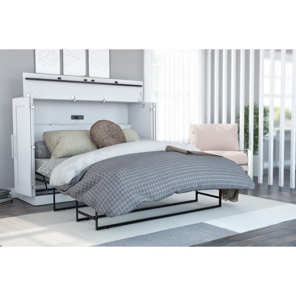 Canella Murphy Bed with Mattress by Latitude Run