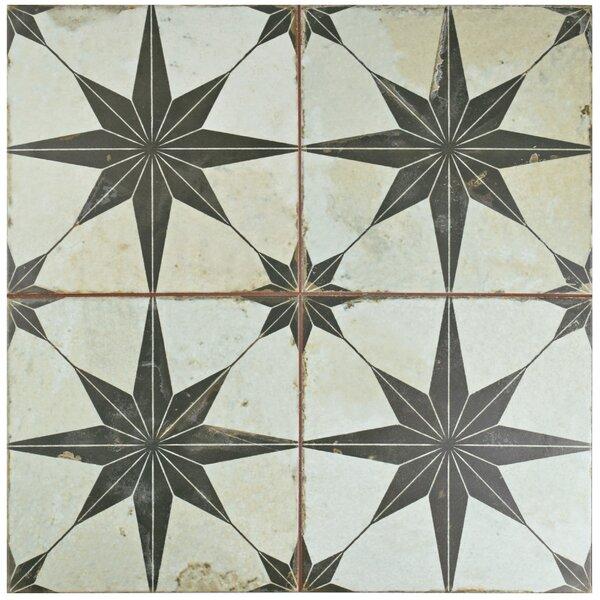 Royalty 17.63 x 17.63 Ceramic Field Tile in Beige/Gray by EliteTile
