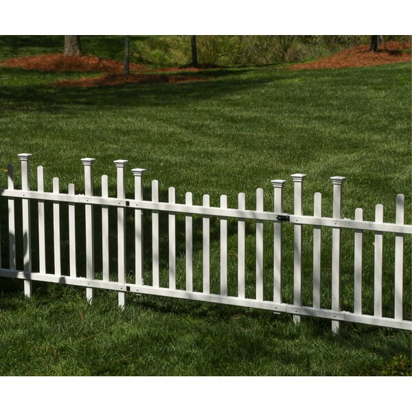 30 x 36 Madison Vinyl Gate Kit by Zippity Outdoor Products