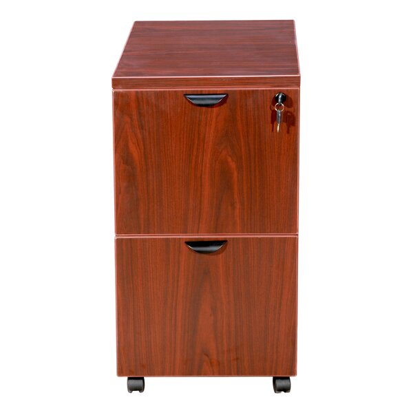 2 Drawer Mobile Pedestal by Boss Office Products