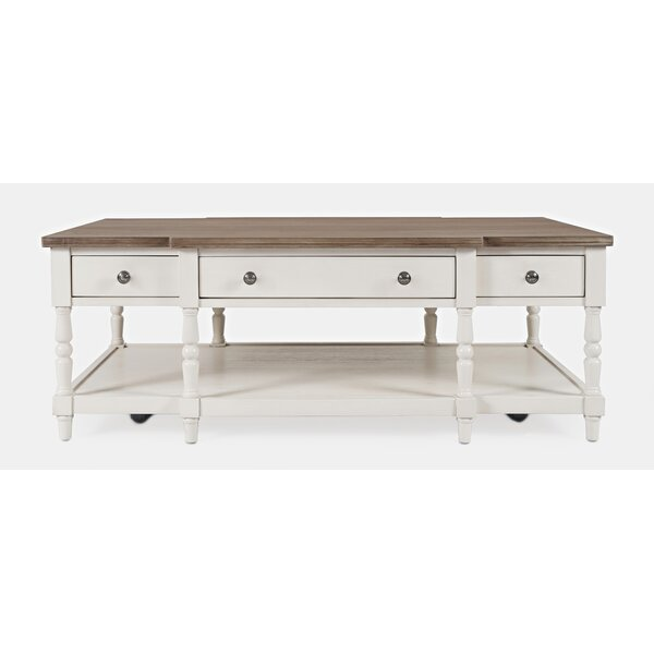 Aleman Coffee Table With Storage By August Grove
