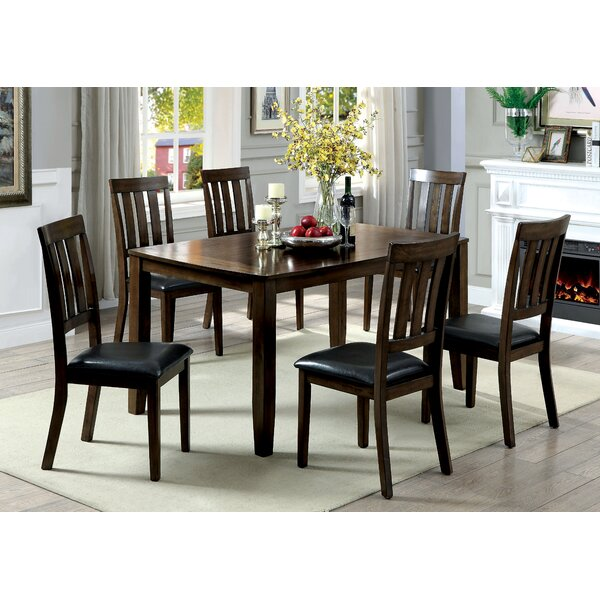 Guevara Transitional 7 Piece Dining Set by Alcott Hill