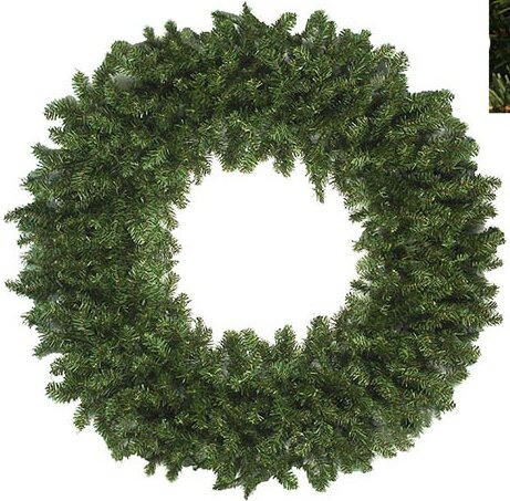 Canadian Pine Artificial Christmas Wreath by The Holiday Aisle