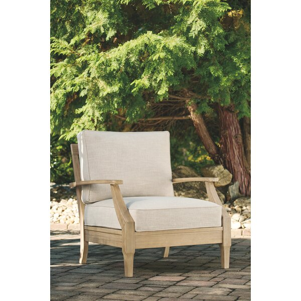 Anguiano Patio Chair with Cushions by Canora Grey