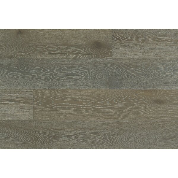 George 7-1/2 Engineered Oak Hardwood Flooring in Gray by Majesta