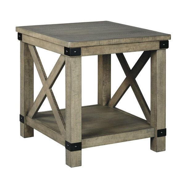 Aghasi End Table With Storage By Gracie Oaks