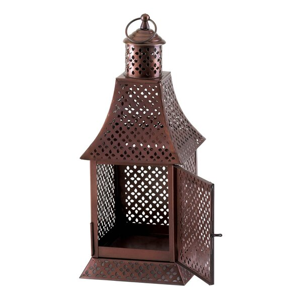 Signature Series Metal Lantern by Malibu Creations
