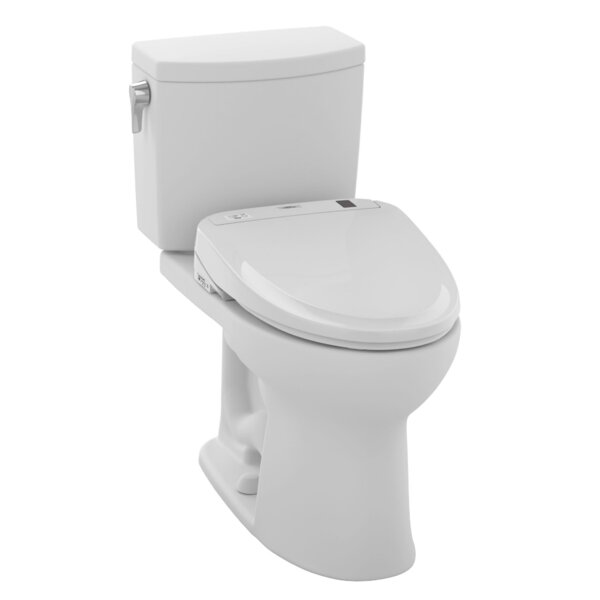 Drake II 1.0 GPF Elongated Two-Piece Toilet by Toto