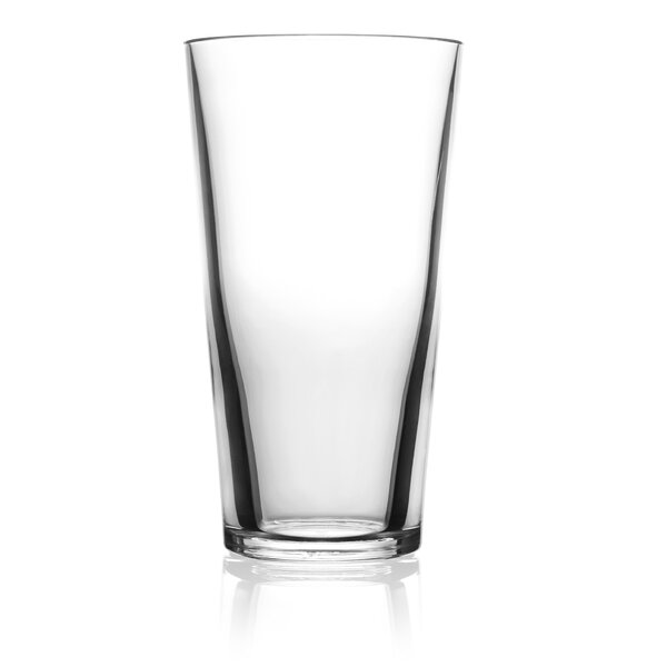 16 oz. Plastic Pint Glass (Set of 2) by symGLASS