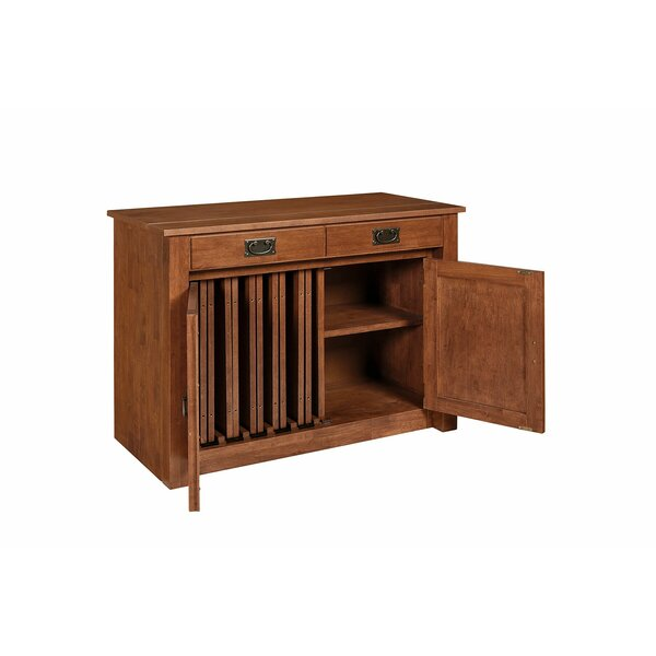 Esita Shaker Mission Style Expanding Accent Cabinet