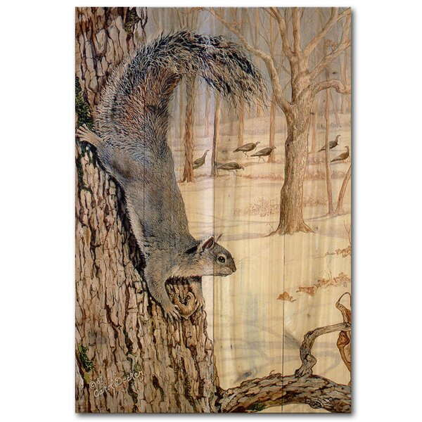 Morning Feed by Carol Decker Painting Print Plaque by WGI-GALLERY