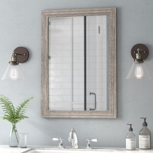 Weiss Distressed Bathroom Mirror
