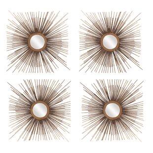 Bungalow Rose Aster Star Burst Accent Mirror