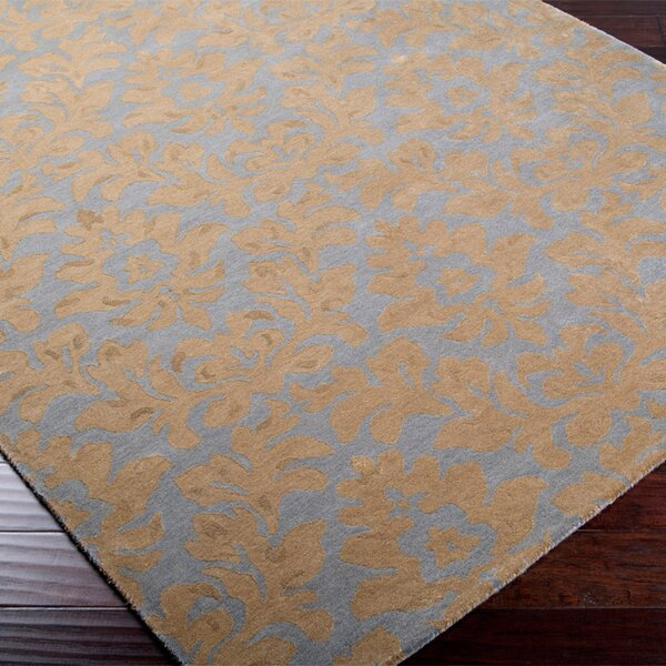 Bogard Beige/Blue Rug by Darby Home Co
