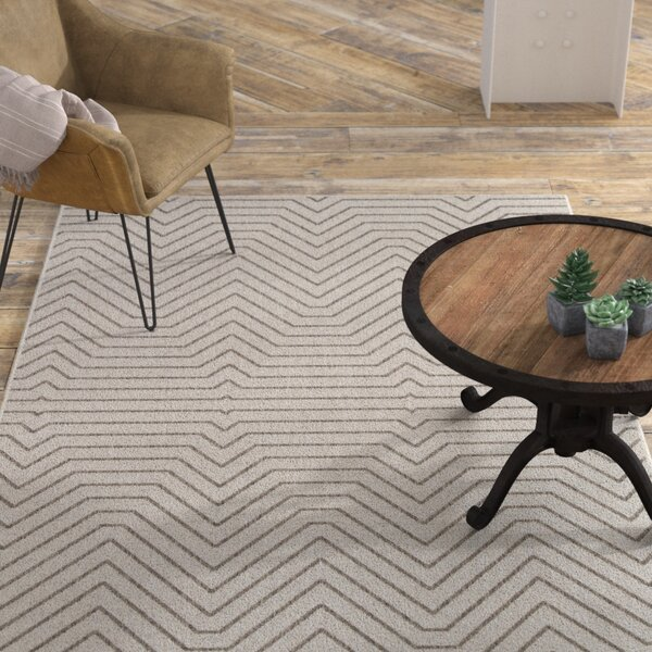 Clarion Light Gray Indoor/Outdoor Area Rug by Williston Forge