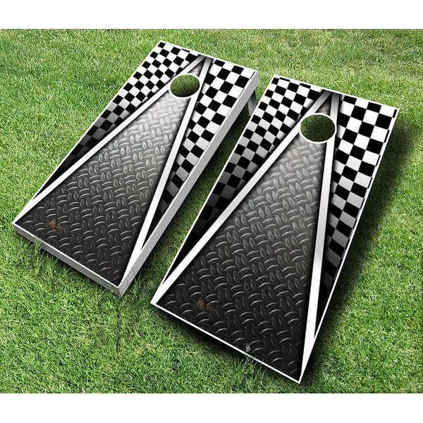 10 Piece Racing Cornhole Set by AJJ Cornhole