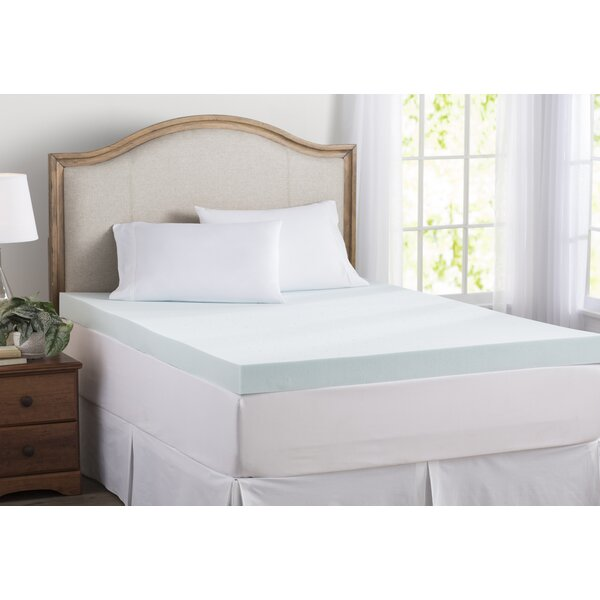 Wayfair Basics 4 Gel Memory Foam Mattress Topper by Wayfair Basics™