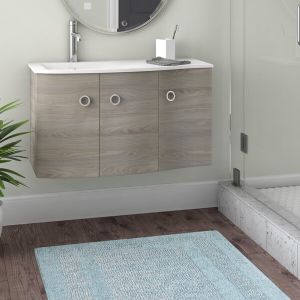 Brookline Medium Modern 42 Wood Single Bathroom Vanity Set by Orren Ellis