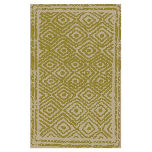 Sala Lime Area Rug by Bungalow Rose