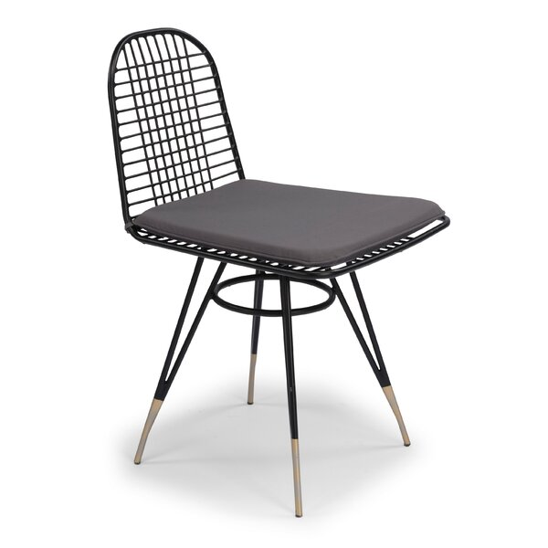 Oswestry Patio Dining Chair with Cushion (Set of 2) by Ivy Bronx Ivy Bronx