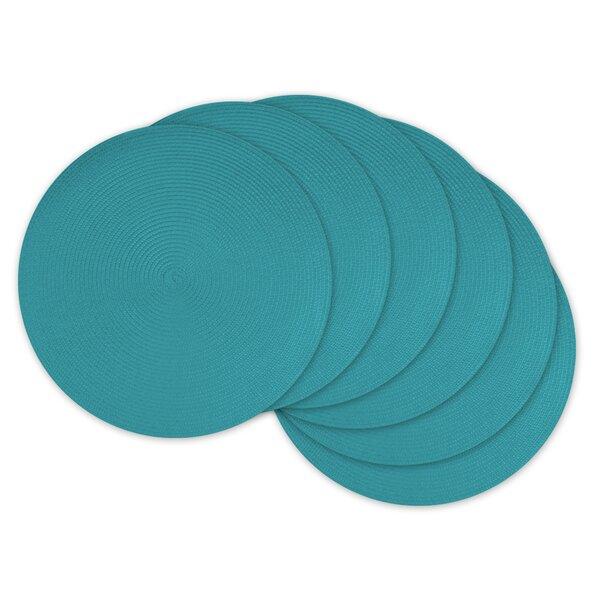 Daniel Round Polypropylene Woven Placemat (Set of