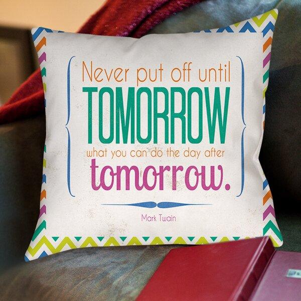 Tomorrow Sdgraphics Studio Sundance Printed Throw Pillow by Manual Woodworkers & Weavers