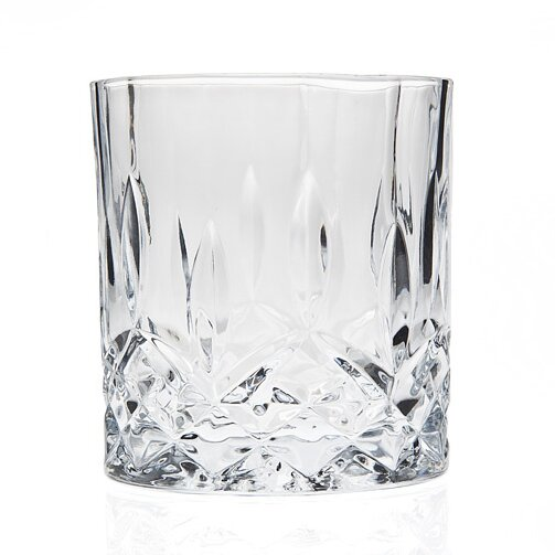 Haskell DOF 8 oz. Crystal Cocktail Glass (Set of 6) by Three Posts