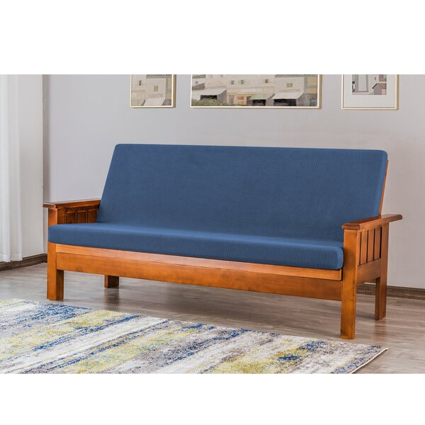 Foldable Box Cushion Futon Slipcover By Red Barrel Studio
