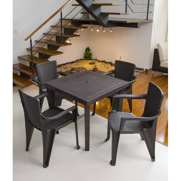 Nara 5 Piece Dining Set by Red Barrel Studio