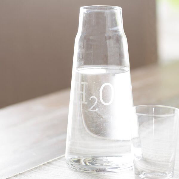 Fortuna H2O 2 Piece Carafe Set by Mint Pantry