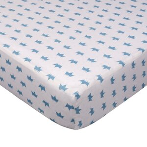 Little Crowns Fitted Crib Sheet