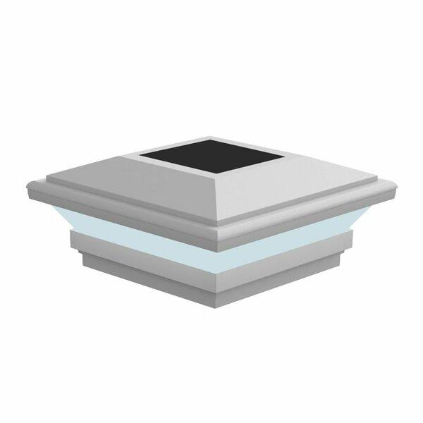 Contemporary Solar Top by Xpanse Select Vinyl Railing